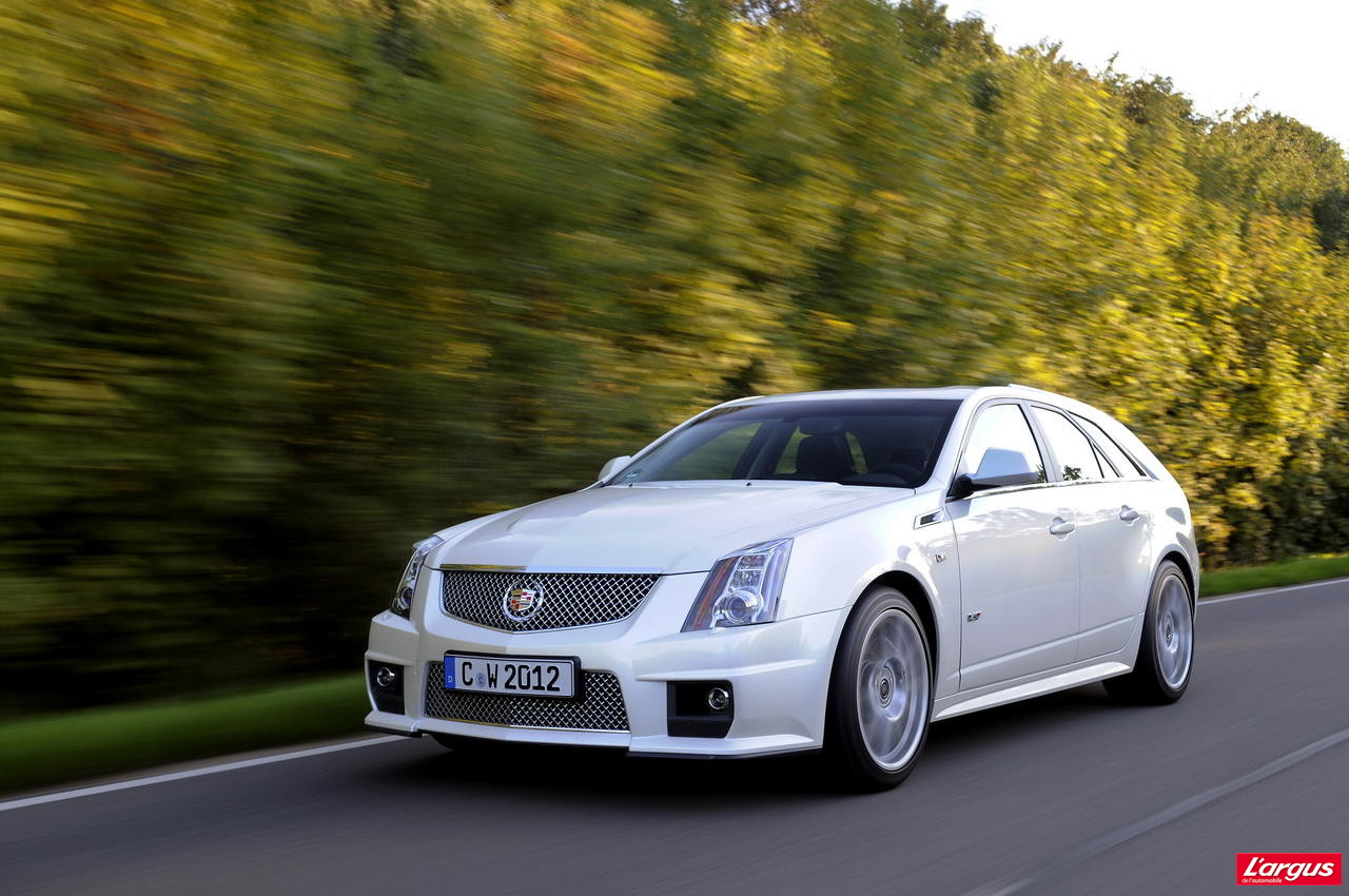 essai cadillac cts sw 2011 306 km h en utilitaire l 39 argus. Black Bedroom Furniture Sets. Home Design Ideas