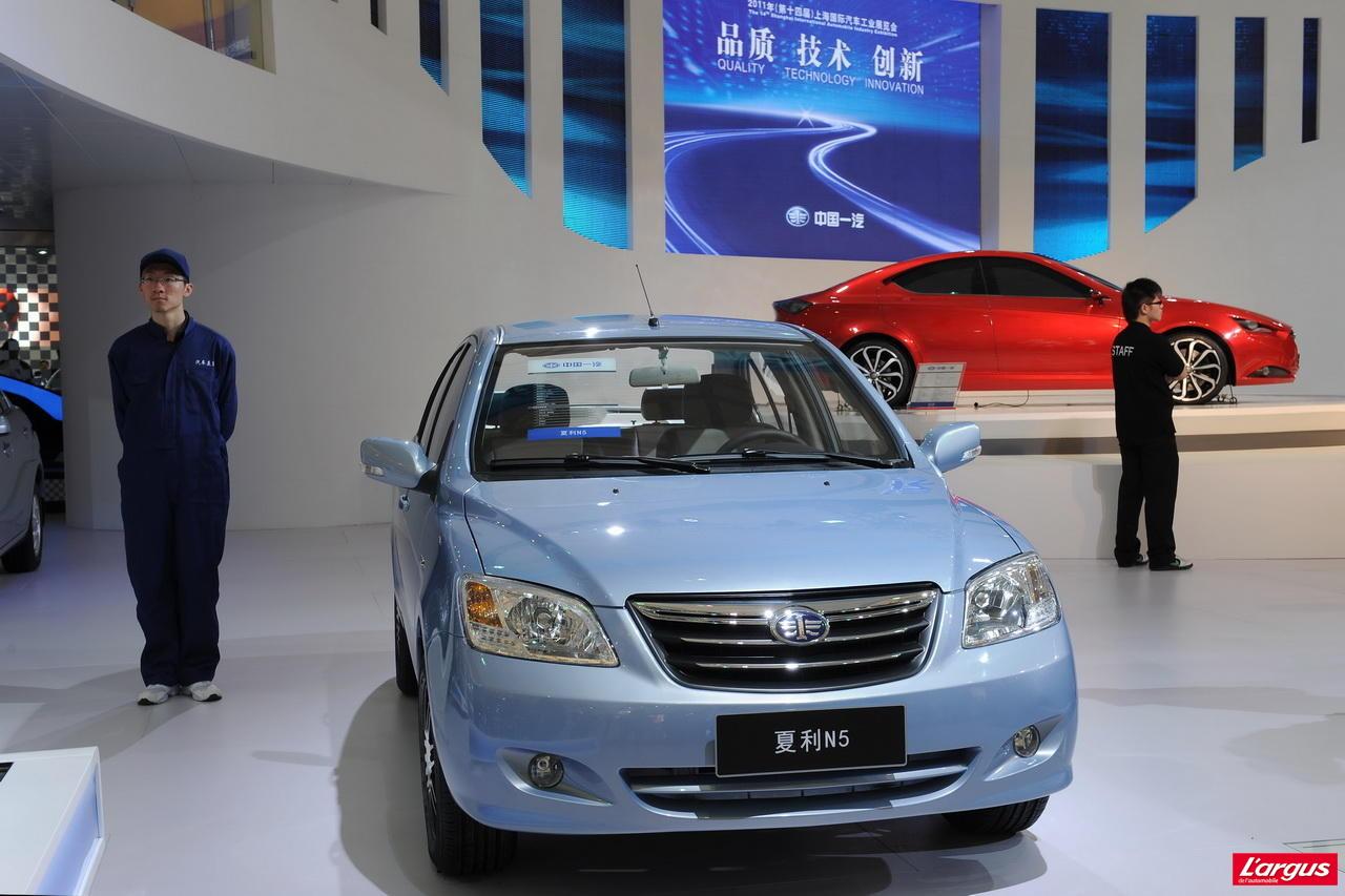 les voitures chinoises pr sentes shanghai photo 14 l 39 argus. Black Bedroom Furniture Sets. Home Design Ideas