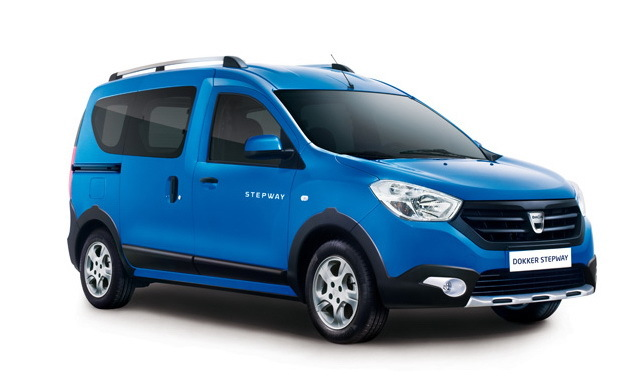 dacia dokker stepway 2014 le dokker en mode baroudeur photo 1 l 39 argus. Black Bedroom Furniture Sets. Home Design Ideas