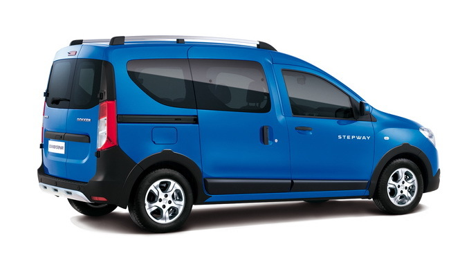 dacia dokker stepway 2014 le dokker en mode baroudeur photo 2 l 39 argus. Black Bedroom Furniture Sets. Home Design Ideas