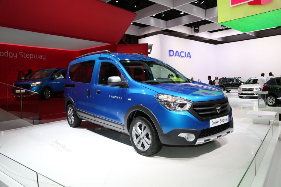 dacia dokker et lodgy 2014 les prix de la version stepway photo 11 l 39 argus. Black Bedroom Furniture Sets. Home Design Ideas