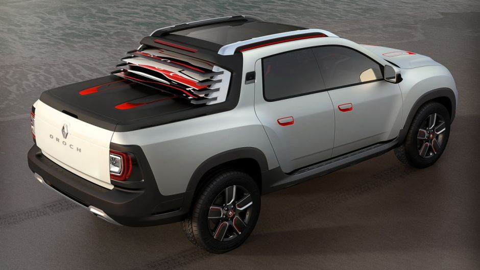 dacia duster oroch un duster pick up pour le march sud am ricain photo 2 l 39 argus. Black Bedroom Furniture Sets. Home Design Ideas