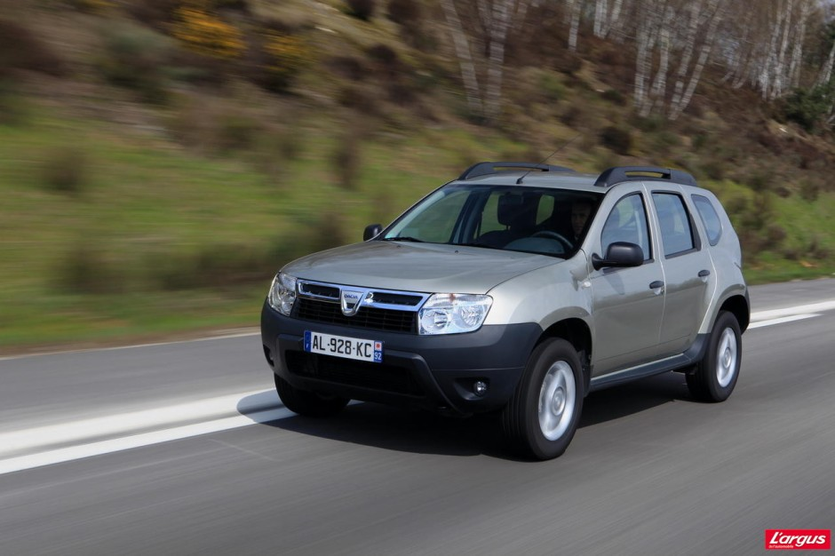 essai du dacia duster dci 85 photo 1 l 39 argus. Black Bedroom Furniture Sets. Home Design Ideas