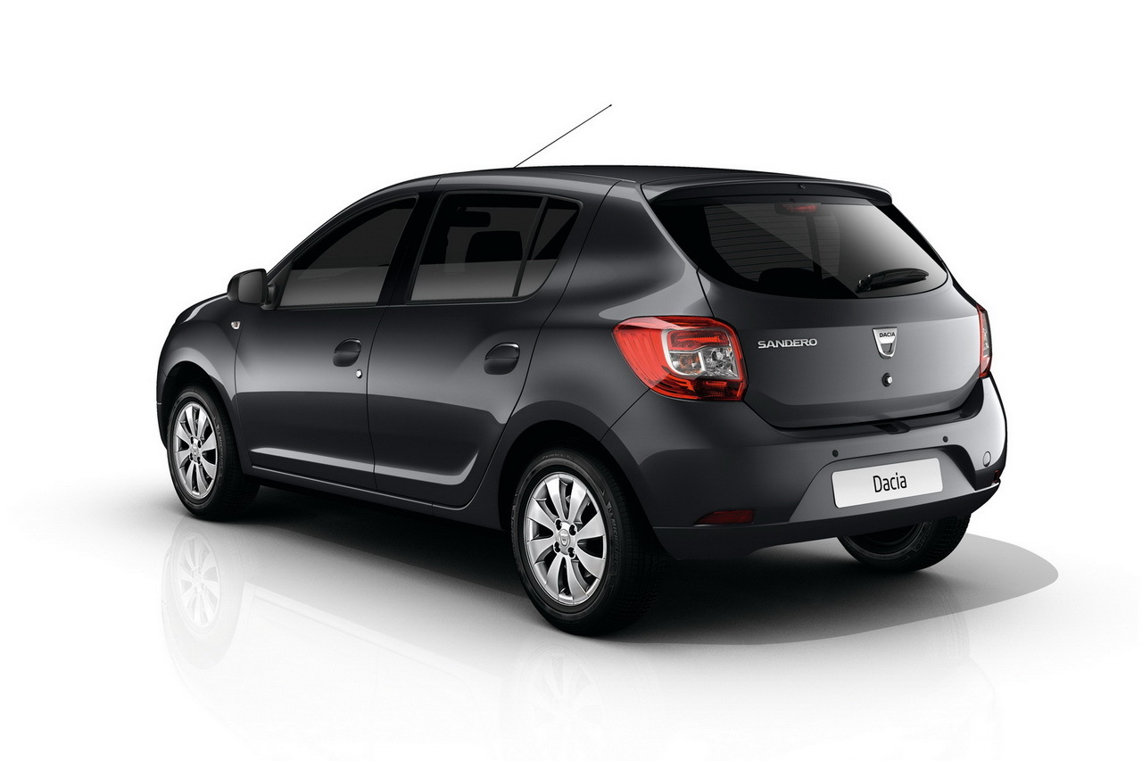 dacia sandero nouvelle s rie sp ciale black touch photo 3 l 39 argus. Black Bedroom Furniture Sets. Home Design Ideas
