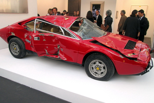 fiac 2013 une ferrari dino cass e vendue 250 000 l 39 argus. Black Bedroom Furniture Sets. Home Design Ideas