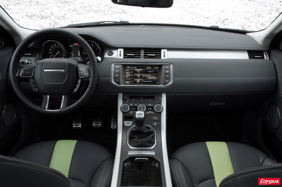 essai range rover evoque ed4 4x2 la preuve par deux photo 17 l 39 argus. Black Bedroom Furniture Sets. Home Design Ideas