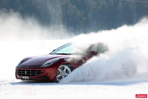 Ferrari on ice, extrême sensation