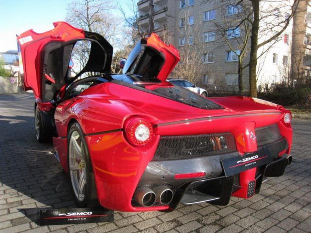 Ferrari d'occasion : le prix de LaFerrari crève le plafond