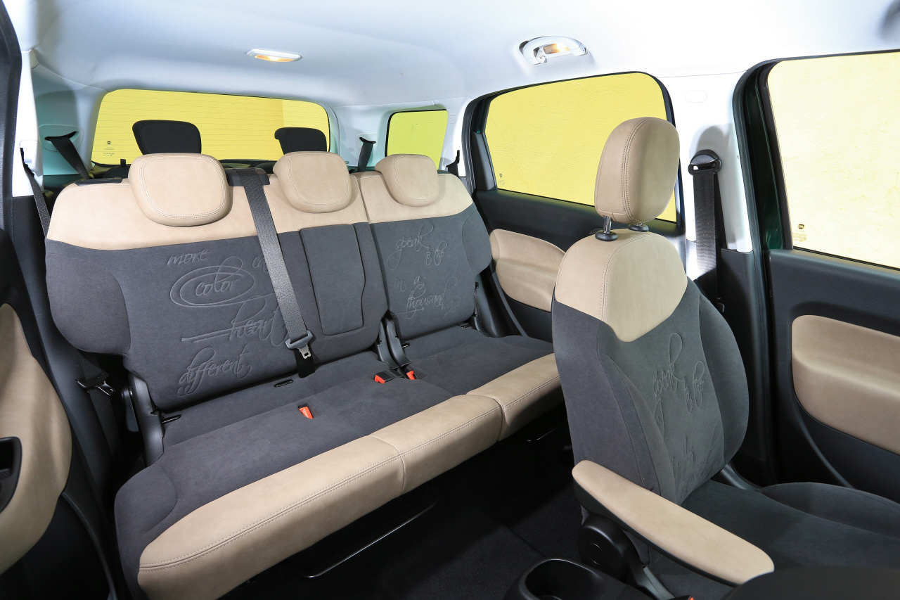 Fiat 500l living face au lodgy et l 39 altea photo 13 for Kadjar interieur 7 places