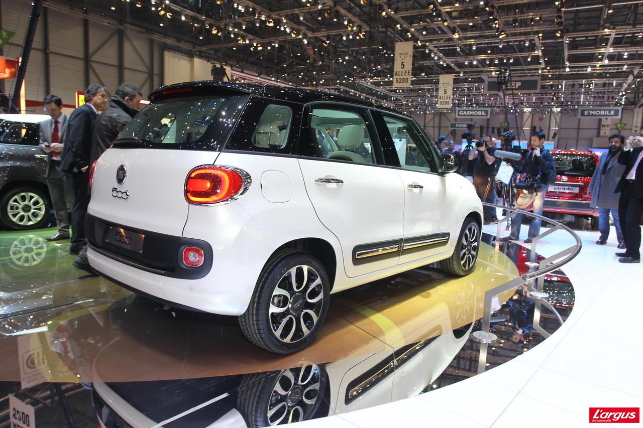 Nissan Note Occasion >> Fiat 500L - Et maintenant, l'intérieur ! - Salon de Genève ...