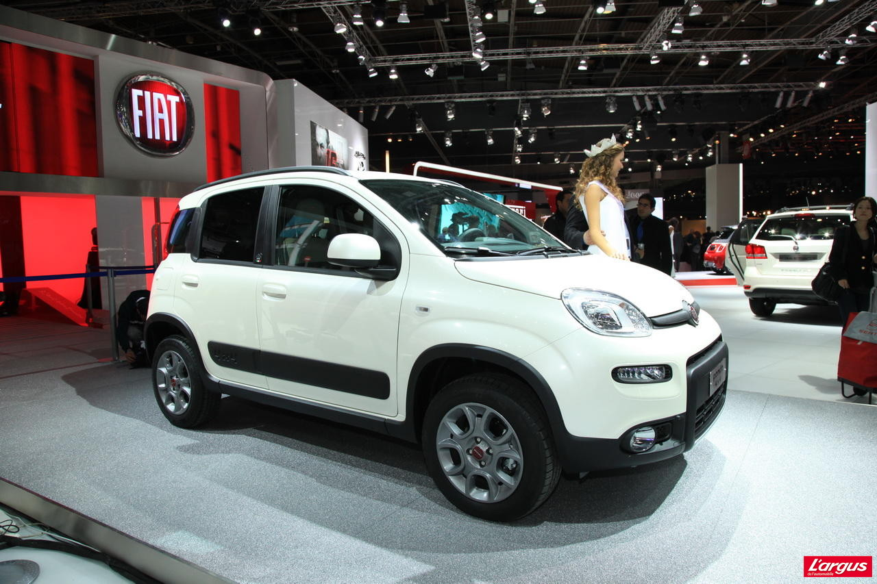 fiat panda 4x4 mini aventuri re mondial de l 39 auto 2012. Black Bedroom Furniture Sets. Home Design Ideas
