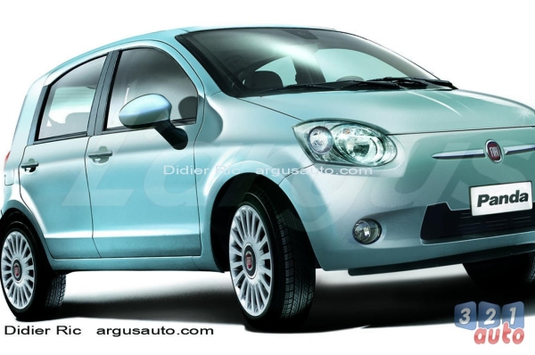 la nouvelle fiat panda arrive photo 1 l 39 argus. Black Bedroom Furniture Sets. Home Design Ideas