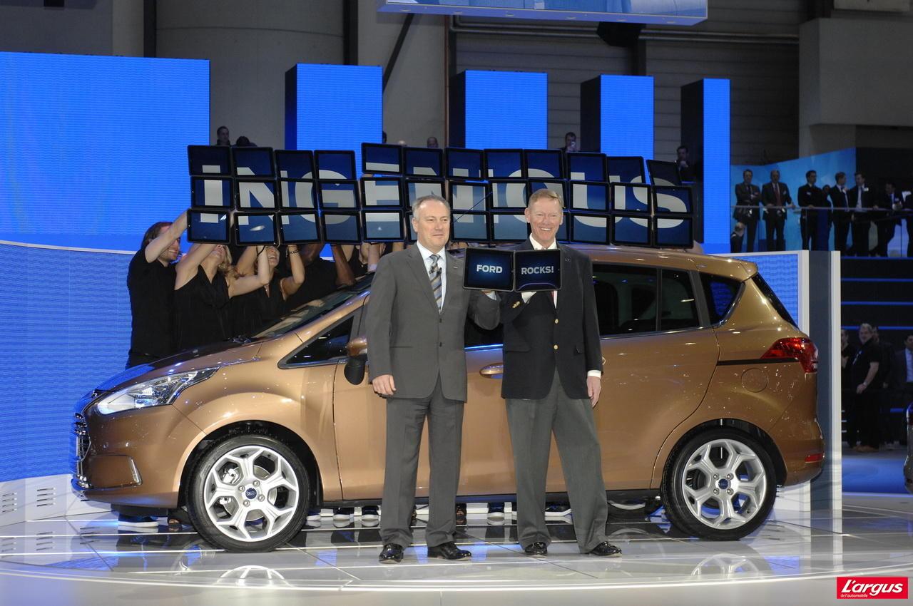 Ford b max op ration portes ouvertes salon de gen ve 2012 for Porte ouverte salon