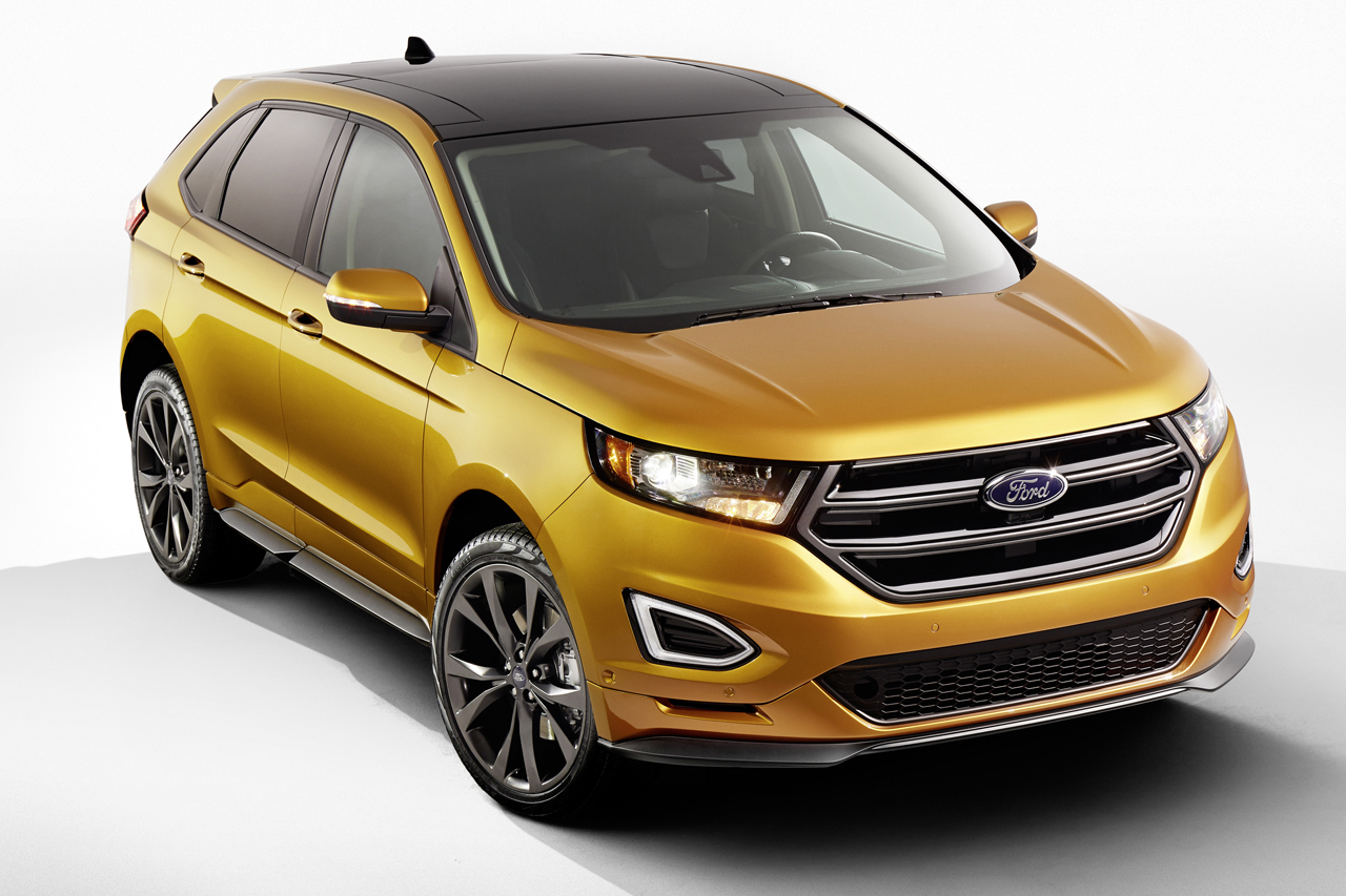 ford edge 2015 il arrive en europe et sera le grand fr re pour le kuga l 39 argus. Black Bedroom Furniture Sets. Home Design Ideas