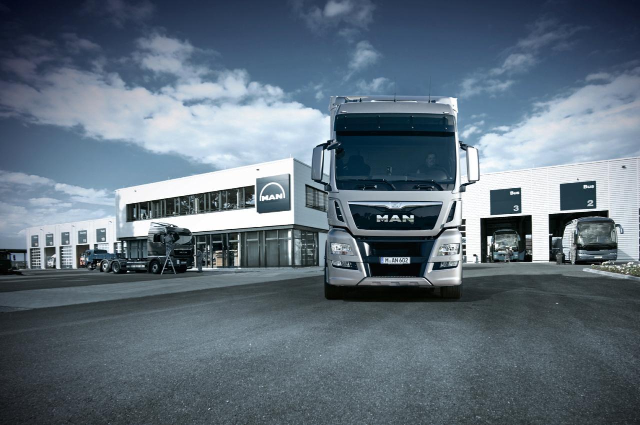 Mission p rennit pour man camions bus actus auto for Cote argus reprise garage
