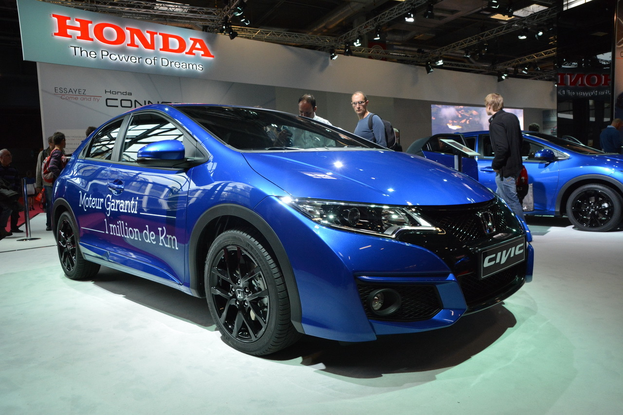 honda civic 2015 les photos de la civic restyl e l 39 argus. Black Bedroom Furniture Sets. Home Design Ideas
