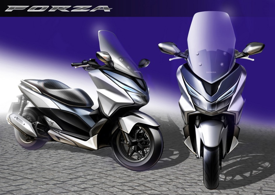 honda forza 125 une star deux roues au mondial photo 15 l 39 argus. Black Bedroom Furniture Sets. Home Design Ideas