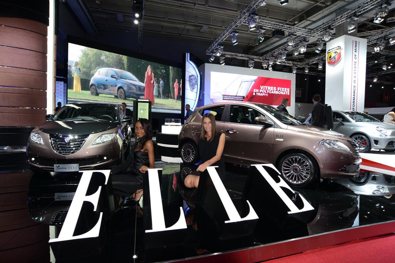 lancia ypsilon elle 2014 elle se montre au mondial de l 39 automobile l 39 argus. Black Bedroom Furniture Sets. Home Design Ideas