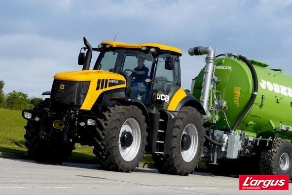jcb choisit sisu pour la motorisation de ses tracteurs fastrac l 39 argus. Black Bedroom Furniture Sets. Home Design Ideas