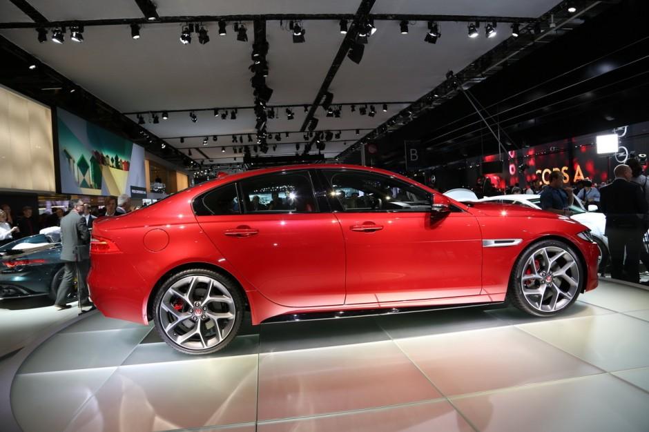 mondial auto 2014 la nouvelle jaguar xe d voil e paris photo 8 l 39 argus. Black Bedroom Furniture Sets. Home Design Ideas