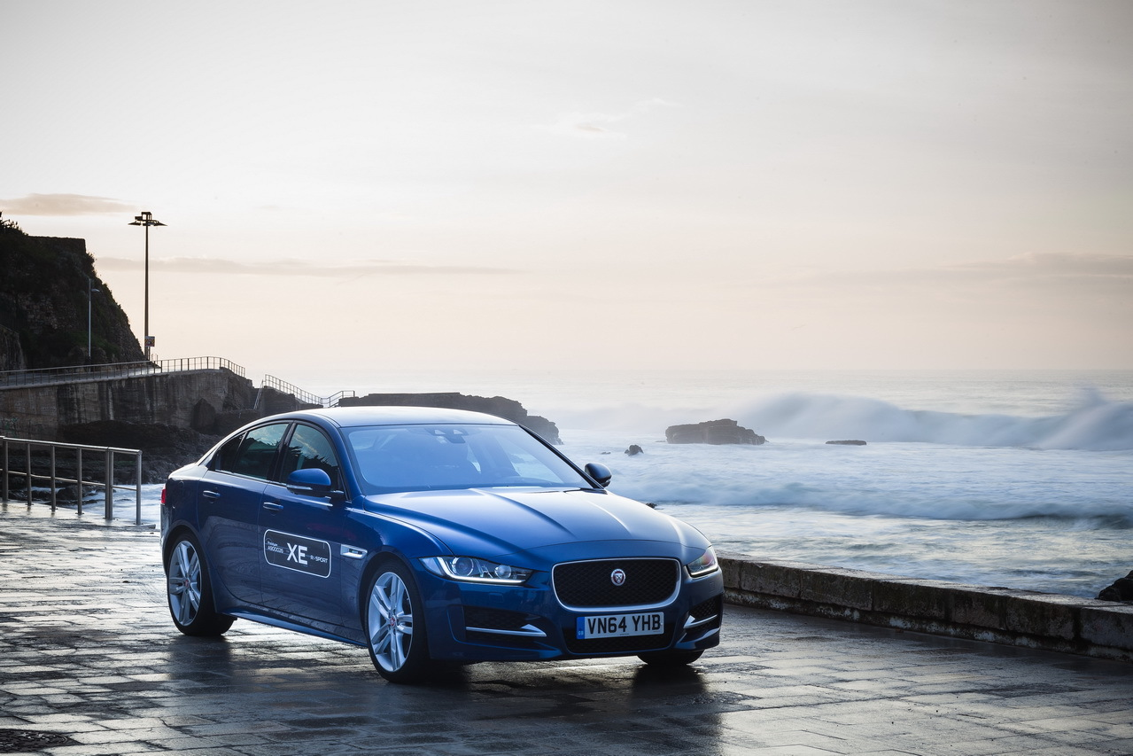 la nouvelle jaguar xe l 39 essai en avant premi re photo 12 l 39 argus. Black Bedroom Furniture Sets. Home Design Ideas