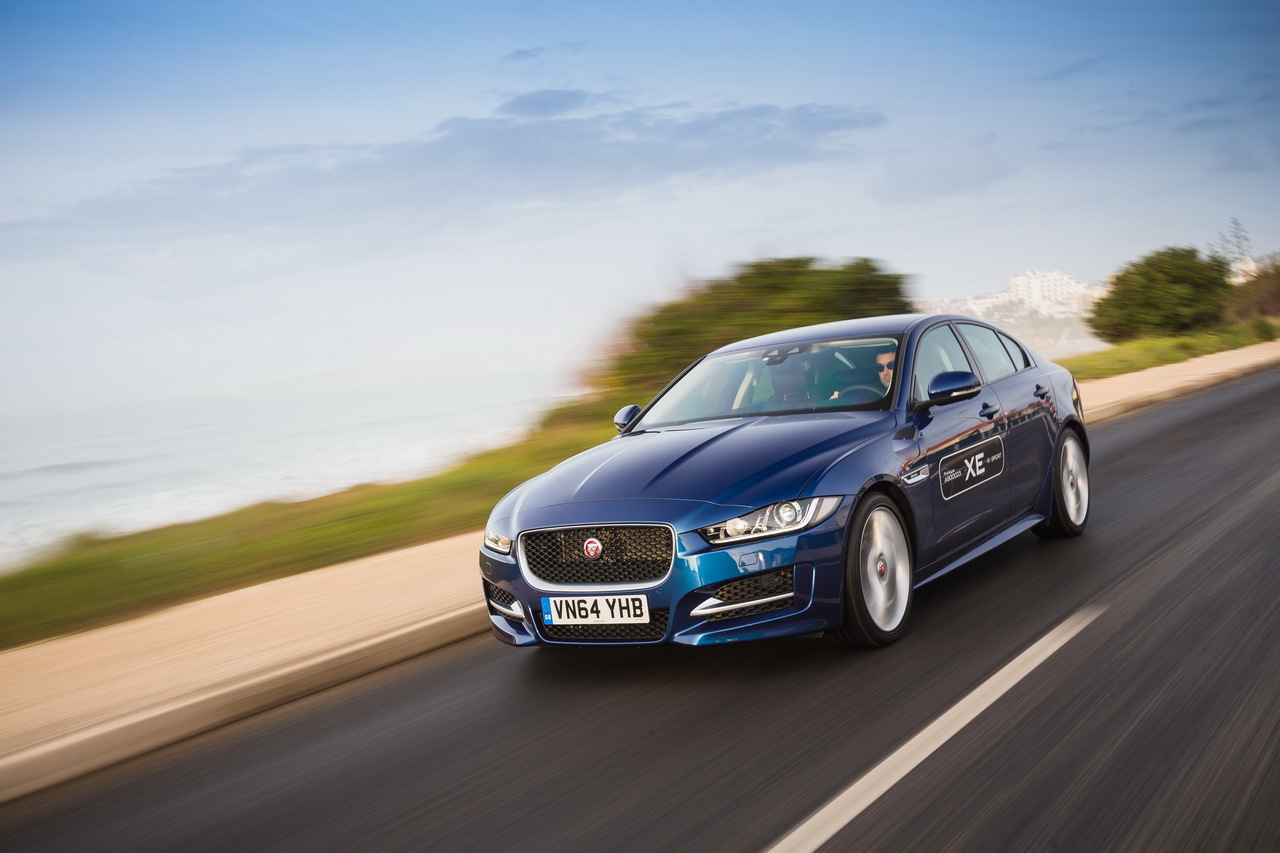 la nouvelle jaguar xe l 39 essai en avant premi re photo 1 l 39 argus. Black Bedroom Furniture Sets. Home Design Ideas