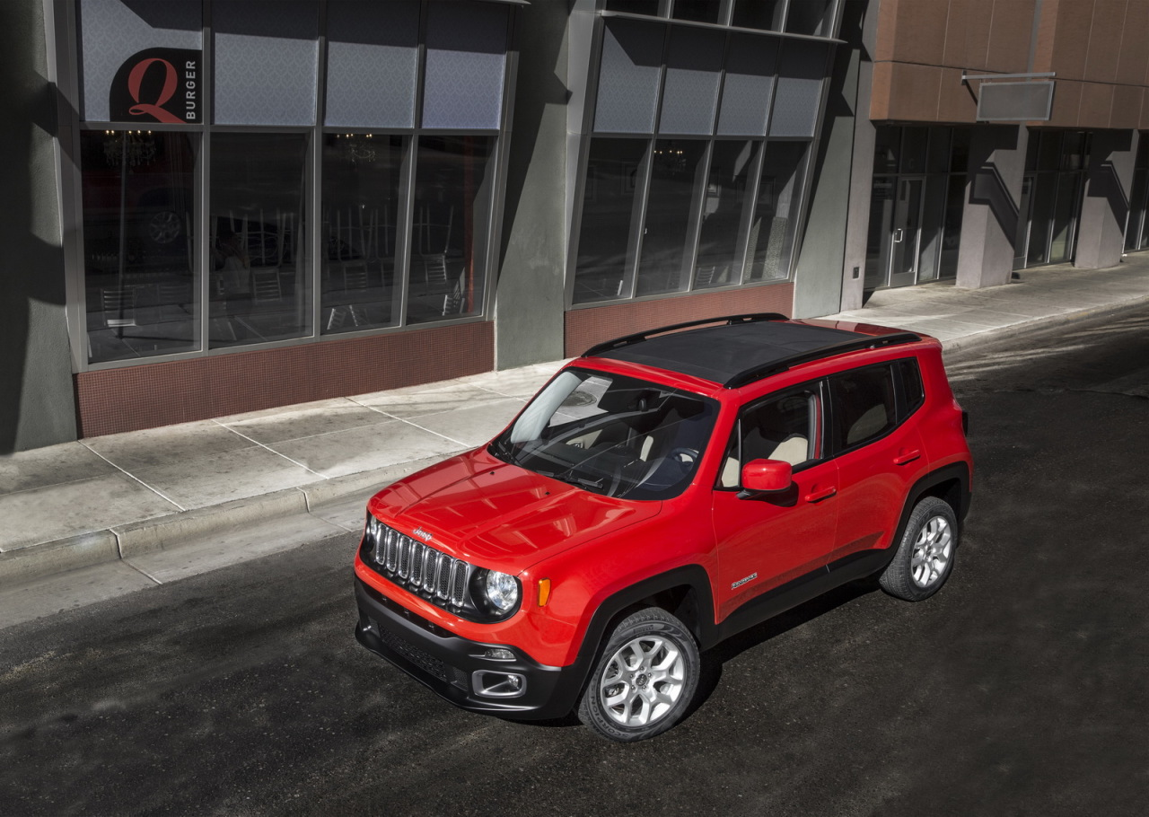 Jeep renegade trailhawk prix