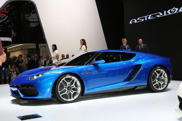 Lamborghini asterion vid o de la supercar hybride au for Tarif salon de l auto