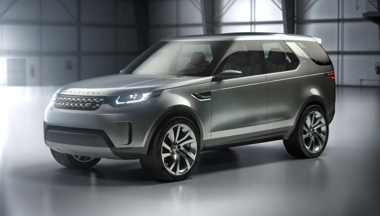 premi res images du land rover discovery vision concept 2014 l 39 argus. Black Bedroom Furniture Sets. Home Design Ideas