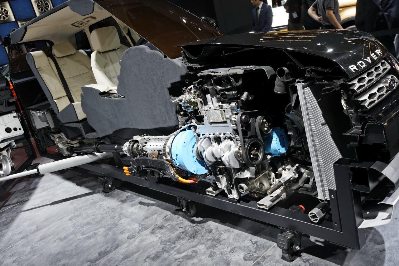 le range rover se coupe en deux salon de francfort 2013