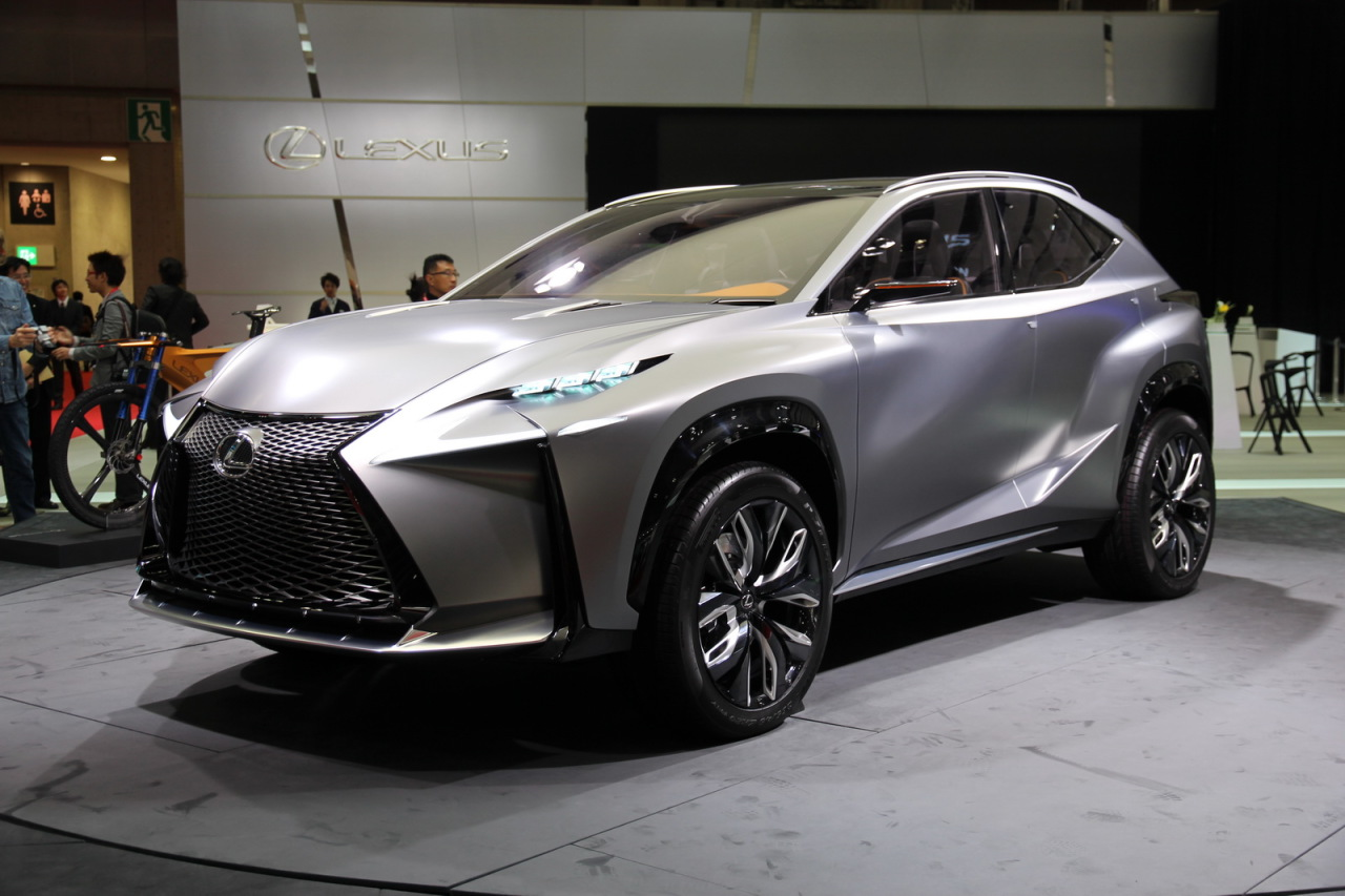 lexus lf nx turbo concept le mod le de s rie s 39 appellera lexus nx l 39 argus. Black Bedroom Furniture Sets. Home Design Ideas