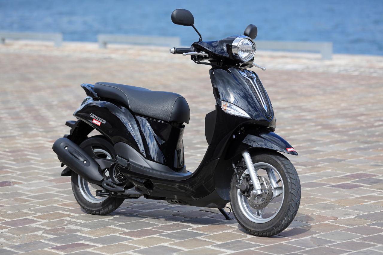 essai du scooter mbk 125 flipper