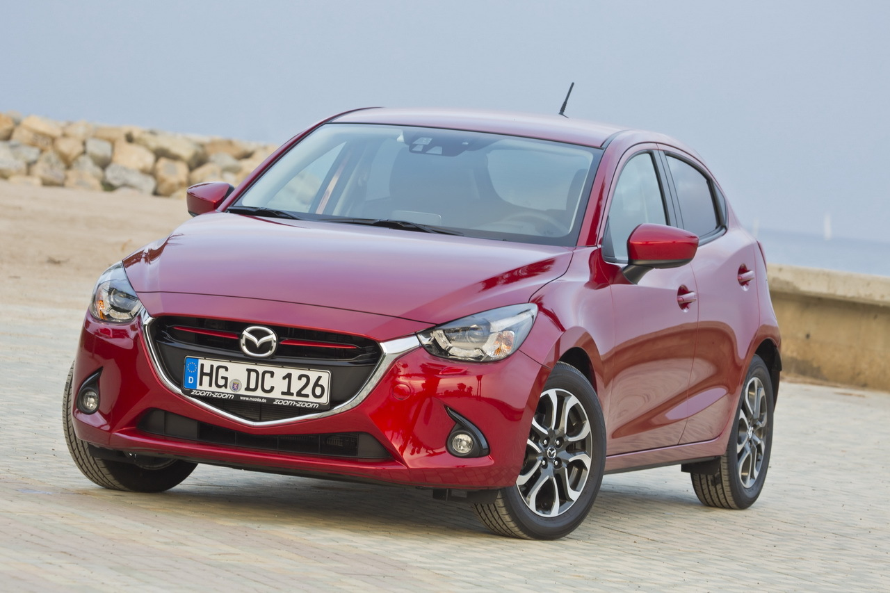 nouvelle mazda 2 essai en avant premi re photo 31 l 39 argus. Black Bedroom Furniture Sets. Home Design Ideas