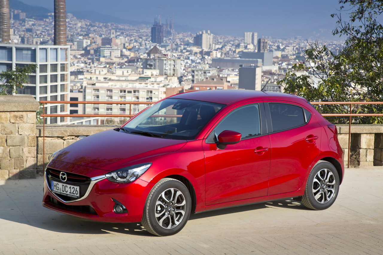 nouvelle mazda 2 essai en avant premi re photo 32 l 39 argus. Black Bedroom Furniture Sets. Home Design Ideas