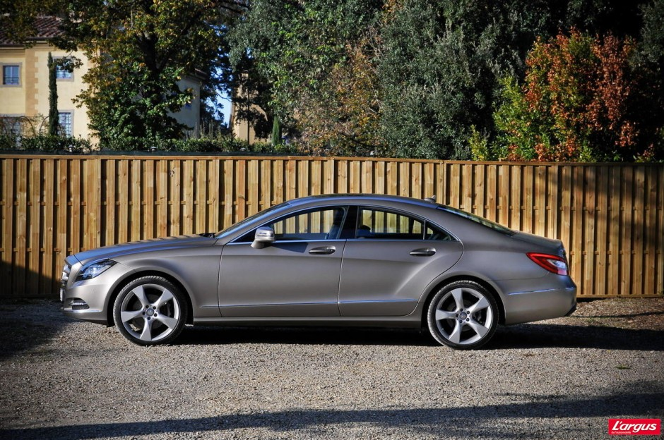 mercedes cls essai vid o photo 25 l 39 argus. Black Bedroom Furniture Sets. Home Design Ideas