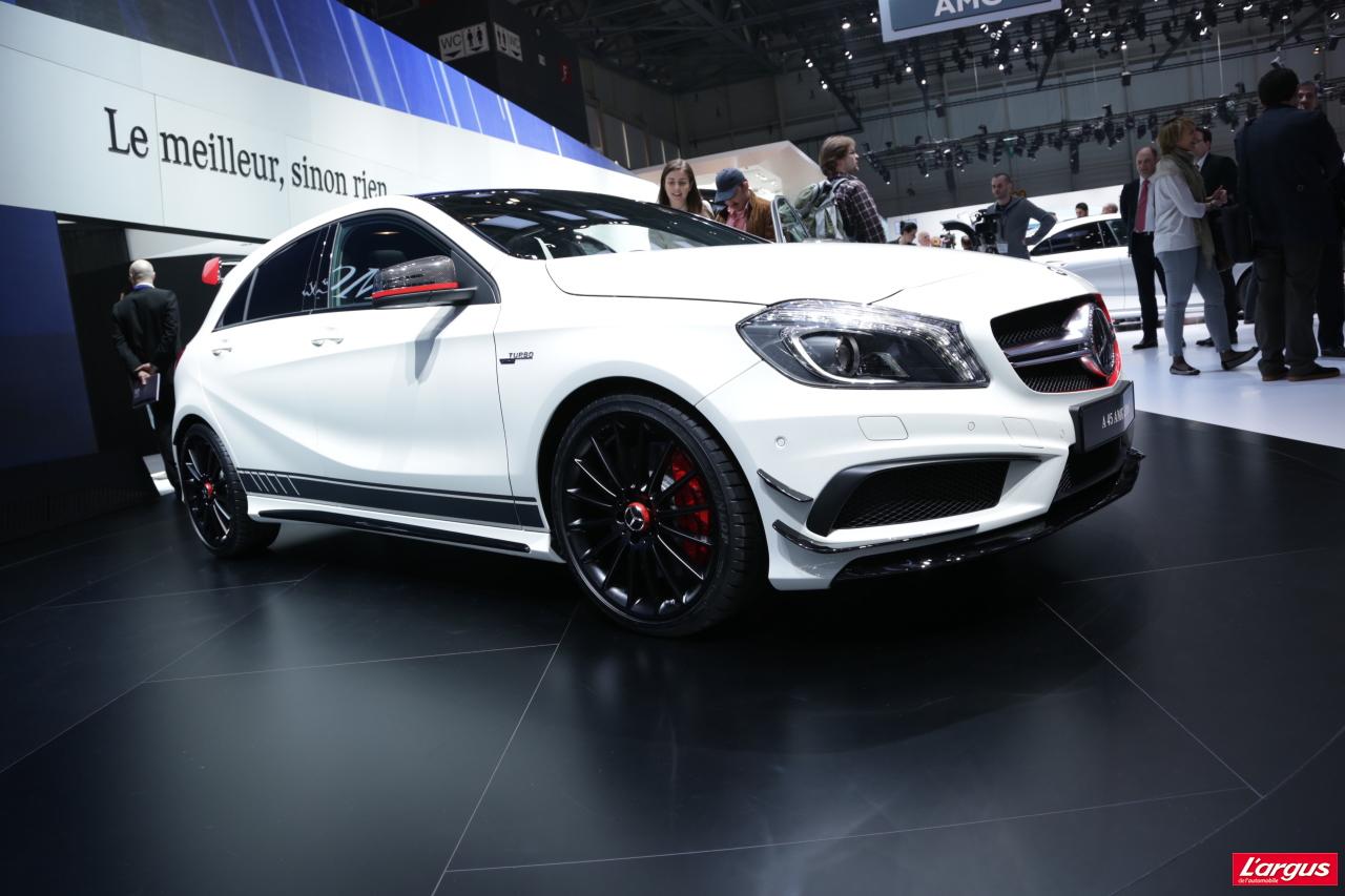 Mercedes Benz Cla >> Mercedes-Benz Classe A - Classe A 45 AMG : un quatre ...
