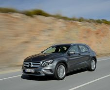 Le Mercedes GLA 200 CDI � l'essai