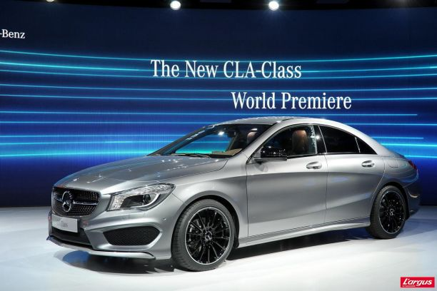 nouvelle mercedes cla une cls en miniature l 39 argus. Black Bedroom Furniture Sets. Home Design Ideas