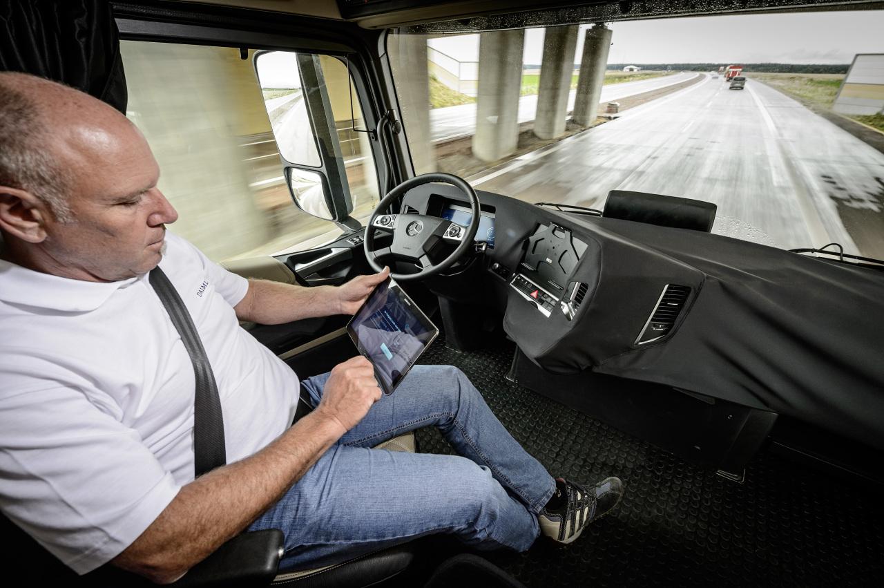 le camion autonome est pr t l 39 argus. Black Bedroom Furniture Sets. Home Design Ideas