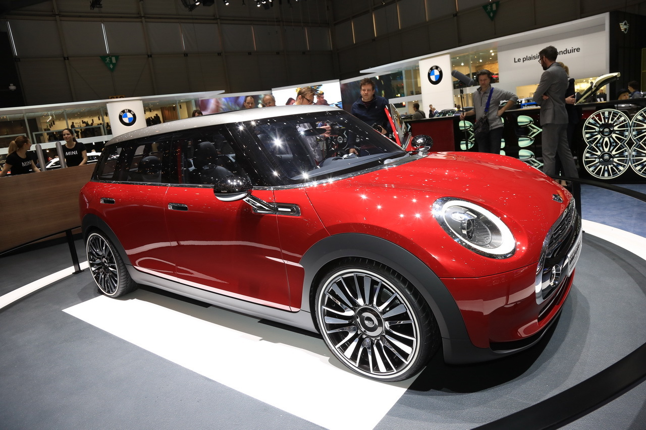 Mini clubman un maxi monde chez mini au salon de gen ve salon de gen ve 2014 - Concept salon de the ...