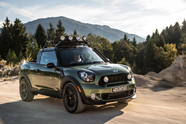 mini paceman adventure 2014 une paceman en mode pick up l 39 argus. Black Bedroom Furniture Sets. Home Design Ideas