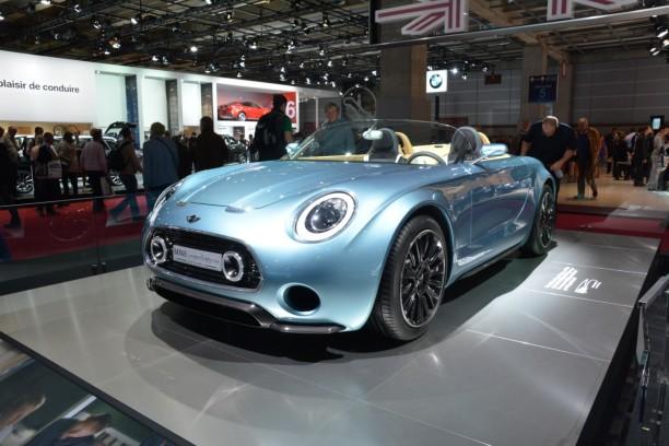 la mini superleggera vision rayonne au mondial de l 39 automobile l 39 argus. Black Bedroom Furniture Sets. Home Design Ideas