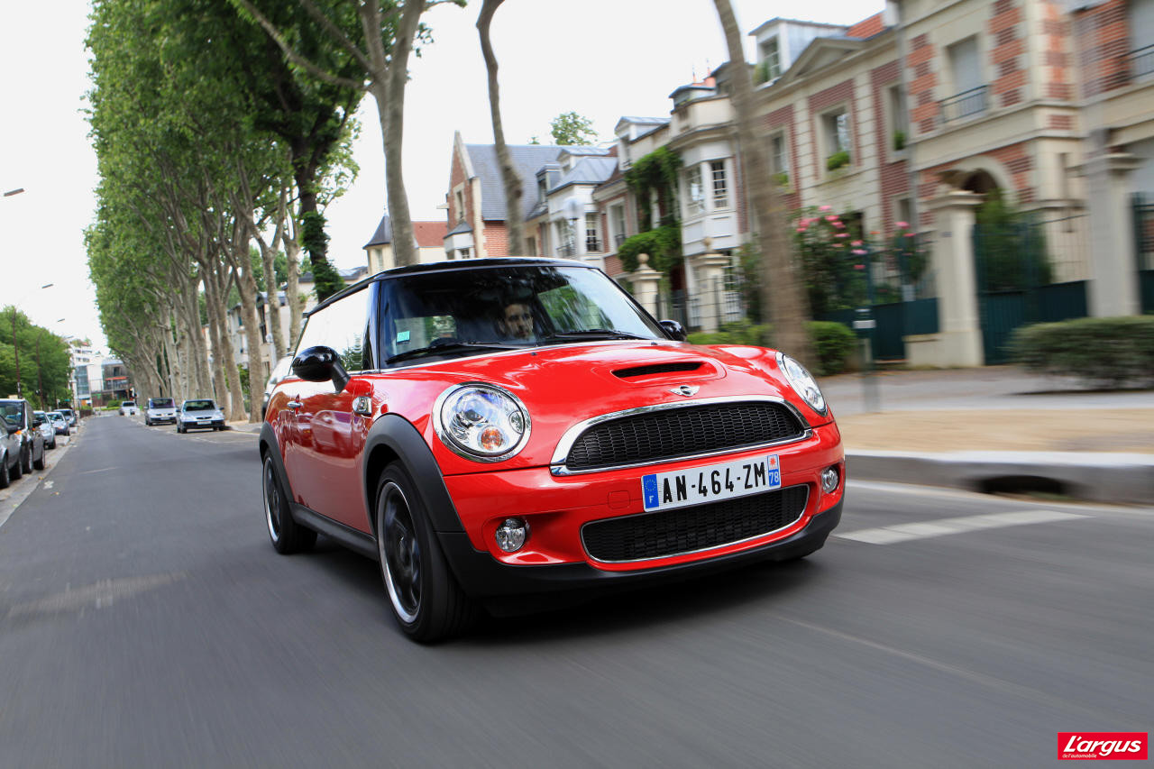 mini cooper s 184 ch efficiente attachante l 39 argus