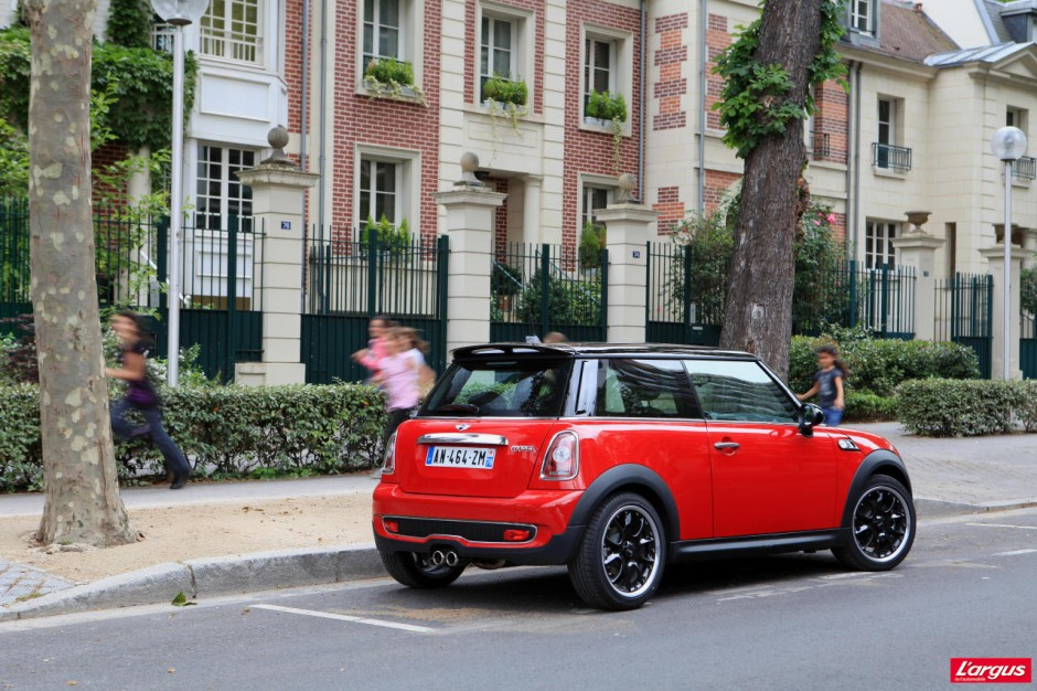 mini cooper s 184 ch efficiente attachante photo 2 l 39 argus. Black Bedroom Furniture Sets. Home Design Ideas