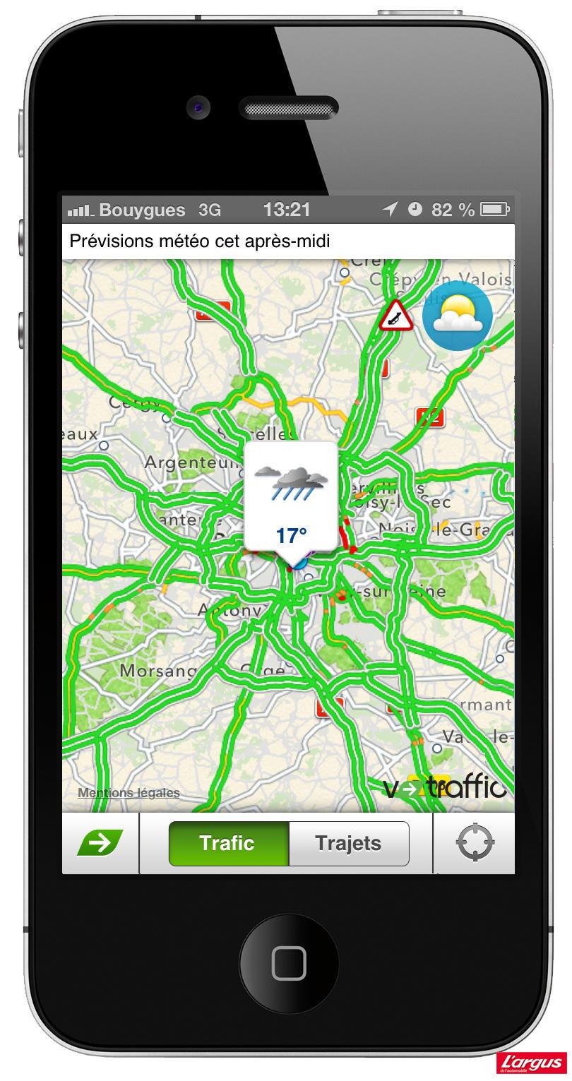 my v traffic disponible pour l 39 ensemble des smartphones photo 5 l 39 argus. Black Bedroom Furniture Sets. Home Design Ideas