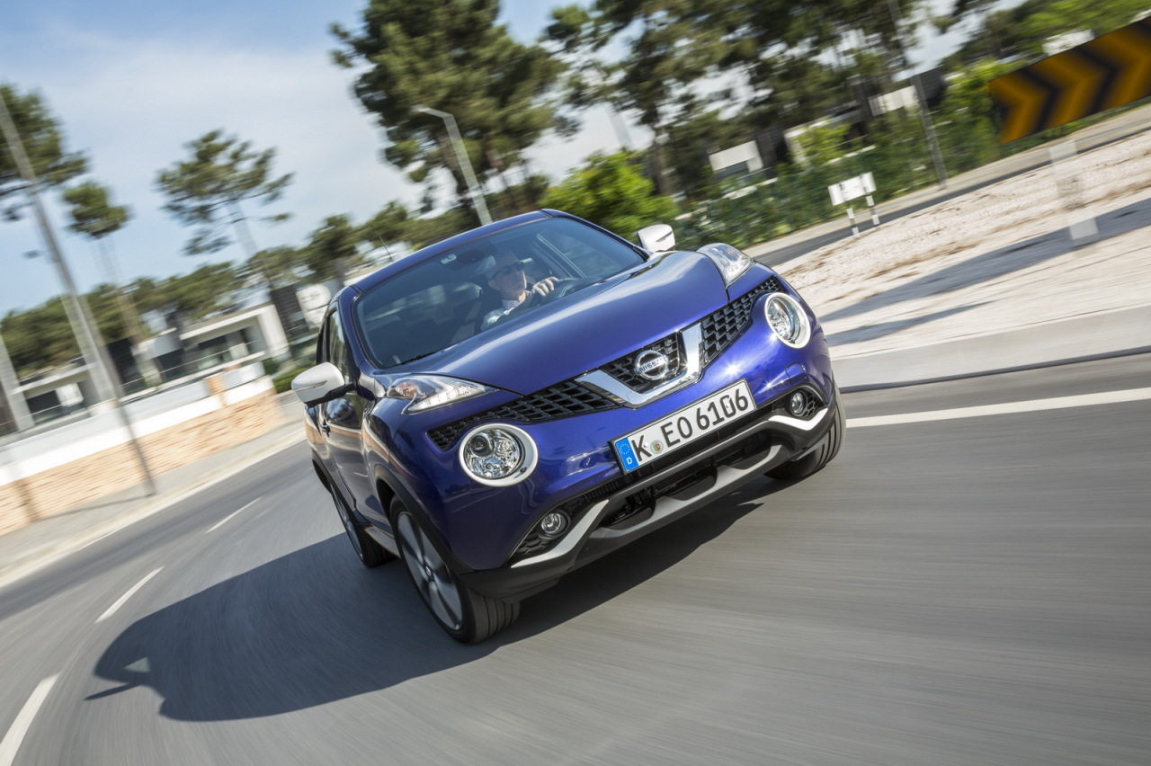 le nissan juke restyl 2014 l 39 essai photo 2 l 39 argus. Black Bedroom Furniture Sets. Home Design Ideas