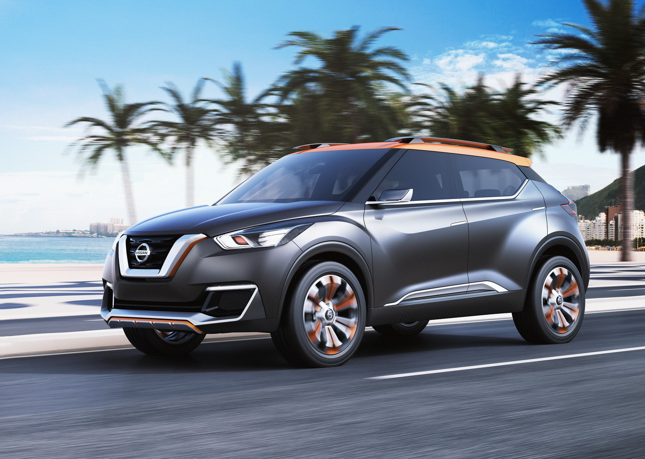 nissan kicks concept le rempla ant du juke en filigranne l 39 argus. Black Bedroom Furniture Sets. Home Design Ideas