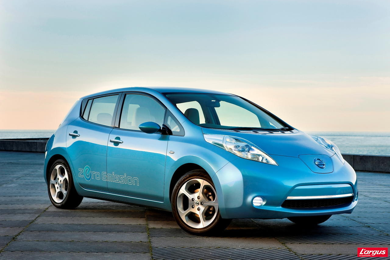 la nissan leaf arrive en europe l 39 argus. Black Bedroom Furniture Sets. Home Design Ideas