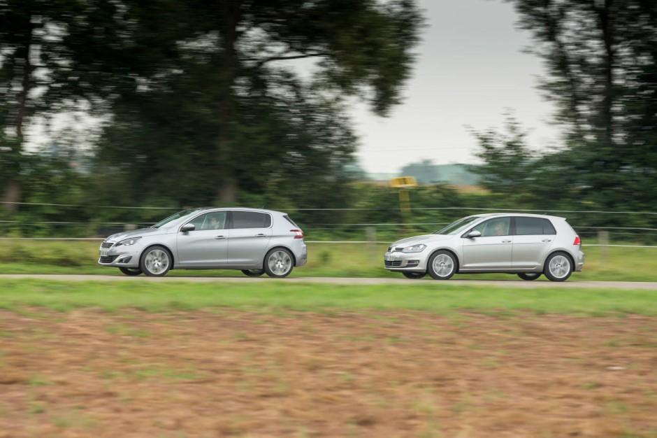 nouvelle peugeot 308 vs volkswagen golf vii le match diesel 150 ch photo 54 l 39 argus. Black Bedroom Furniture Sets. Home Design Ideas