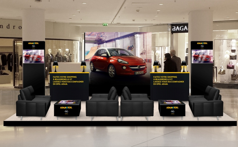 opel raccompagne les clients du centre commercial beaugrenelle l 39 argus. Black Bedroom Furniture Sets. Home Design Ideas